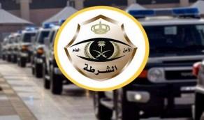شرطة الرياض: القبض على ثلاثة أشخاص قاموا بسرقة المركبات والسطو على المتاجر وسرقتها