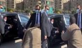 """شاهد..الرئيس المصري يوقف موكبه لشراء """" الموز """""""