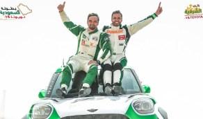 """ياسر بن سعيدان يفوز بالمركز الأول بـ """" رالي الشرقية """""""