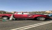4 إصابات في حادث تصادم ببيضان الباحة