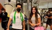 نوران خليل تدافع عن ظهورها مع محمد صلاح