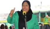 """""""سامية صلوحي"""" أول محجبة تشغل منصب الرئيس بإفريقيا"""