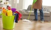 سيدة تجبر زوجها على تولي الأعمال المنزلية بحجة حملها