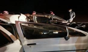 موقف عصيب لأحد رجال الدفاع المدني تفاجأ بوفاة والده في حادث يباشره