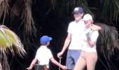 بالصور.. إيفانكا ترامب تظهر مجددًا برفقة زوجها وابنيها وهي تلعب الجولف