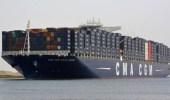 خسائر قناة السويس كل ساعة بسبب السفينة العالقة