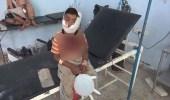 شاهد.. إصابة طفل يمني برصاص قناصة الحوثي