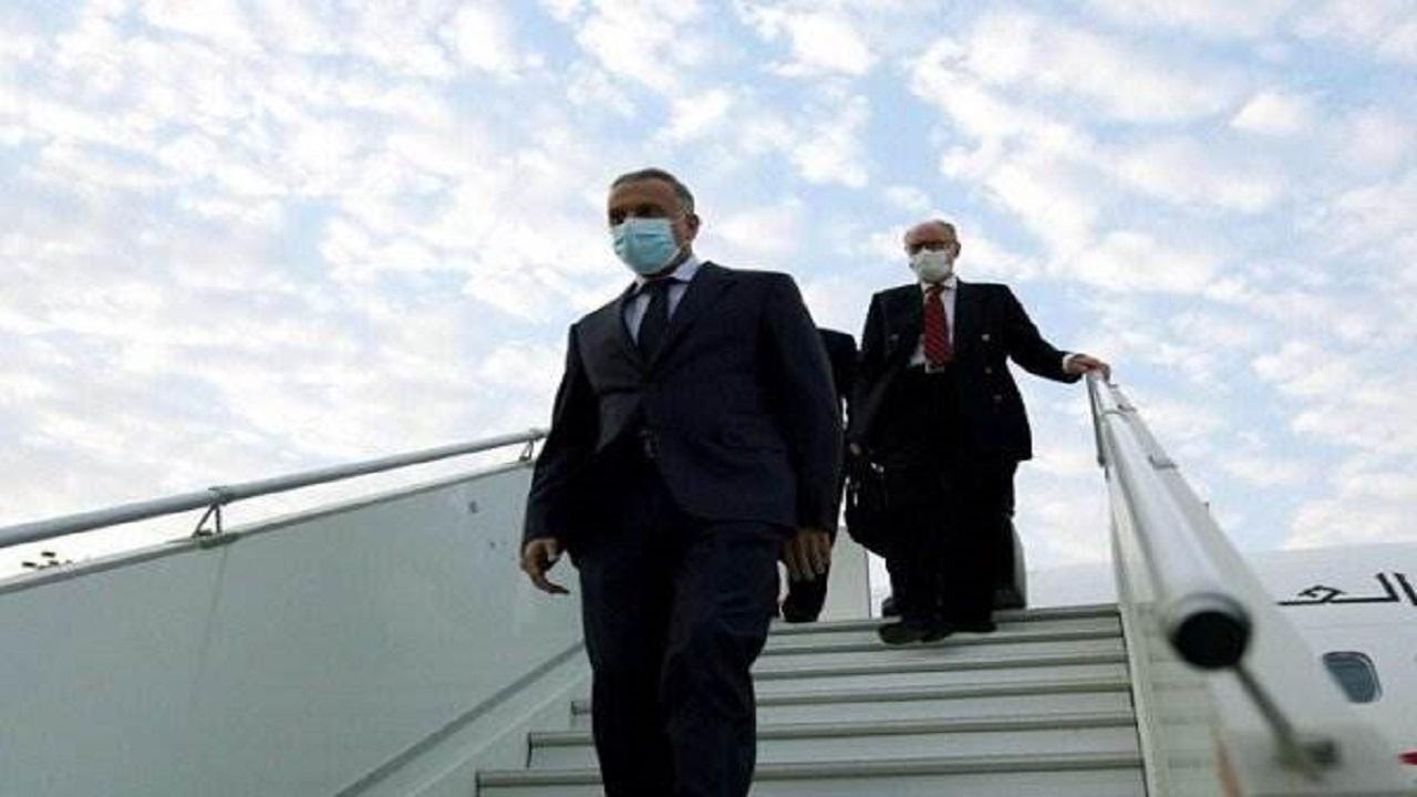 الكاظمي يصل الرياض والأمير محمد بن سلمان في استقباله