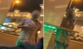 الإطاحة بـ 4 مواطنين في واقعة التحرش داخل مول الطائف