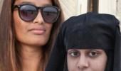 """بالصور.. """"عروس داعش"""" تخلع حجابها"""