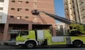 اندلاع حريق في شقة سكنية بالعاصمة المقدسة