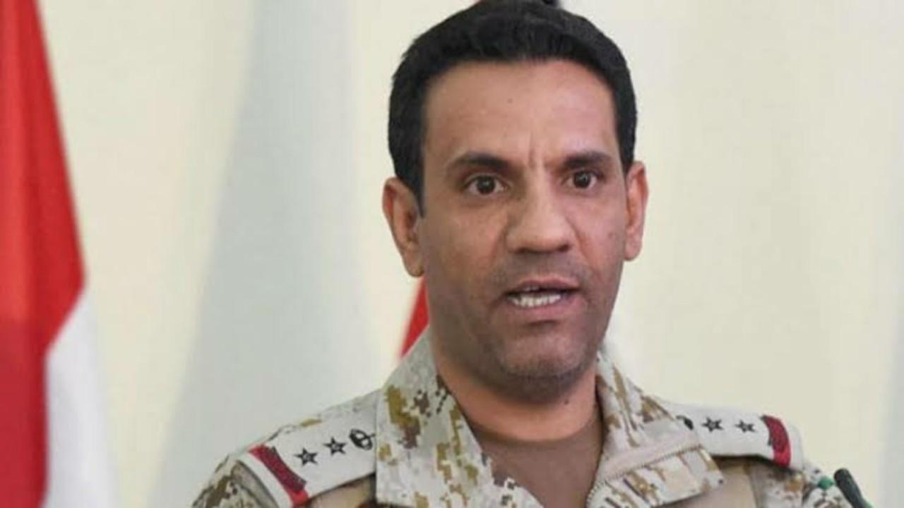 """اعتراض وتدمير طائرة """"مفخخة"""" أطلقتها المليشيا الحوثية تجاه المملكة"""