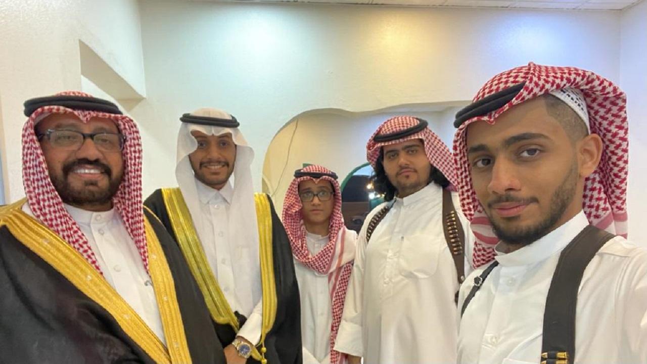 الزميل رمضان المالكي يحتفل بزواج ابنته