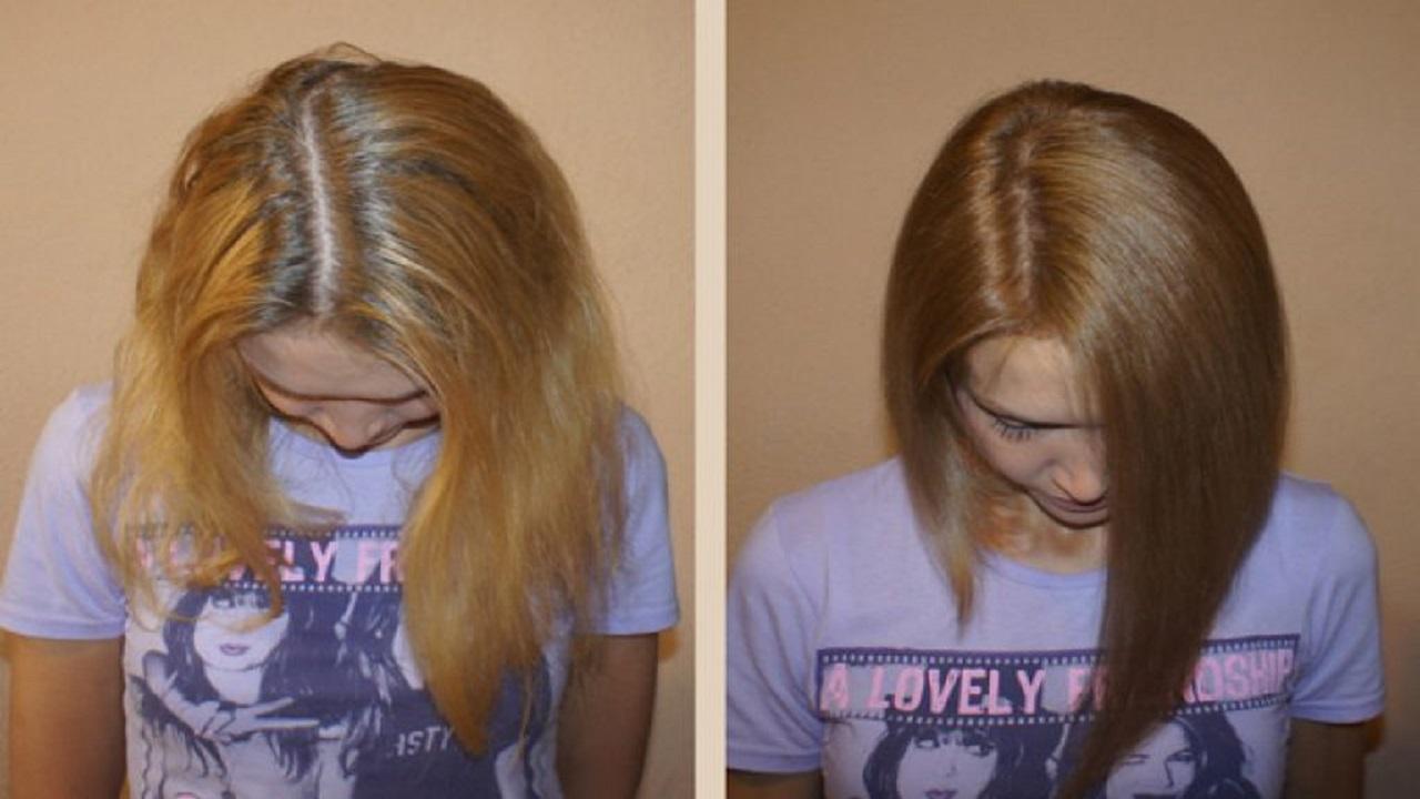 طريقة إستعادة اللون الأصلي لشعرك بعد الصبغة