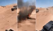 بالفيديو.. تدمير آليات عسكرية حوثية في جبهة الكسارة بمحافظة مأرب