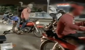 ضبط المتباهين بقيادة دراجات آلية بطريقة مخالفة في مكة