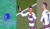رونالدو يغادر الملعب ملقيًا شارة القيادة في تصفيات كأس العالم