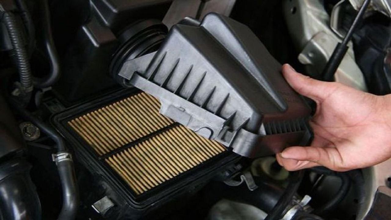 انسداد فلتر هواء السيارة يؤدي إلى ارتفاع استهلاك الوقود