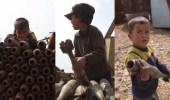 بالفيديو.. قذائف الهاون تفتح باب رزق لأسرة سورية
