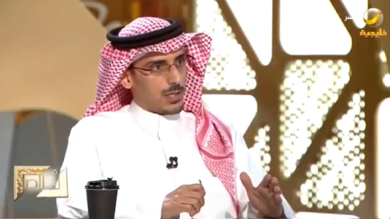 شاهد..العساف: عبدالرحمن بن سعيد ليس مؤسس الهلال الحقيقي