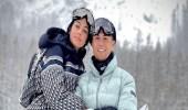 رحلة تزلج بين الثلوج تخضع رونالدو وجورجينا للتحقيق