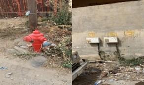 بالفيديو والصور.. شكاوى من قطع المياه منذ 7 سنوات في أحد أحياء جازان