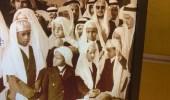 صورة نادرة لـ أبناء وأحفاد الملك سعود في الظهران