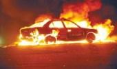 مجهول يشعل النيران في مركبة بمكة والجيران يسارعون لإطفائها