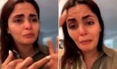 """بالفيديو.. ناشطة تبكي تسميم الكلاب ولا تبكي الأطفال المتوفين: """"والله ما بيصير"""""""