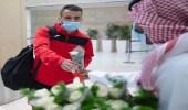 بعثة منتخب فلسطين تصل الرياض لمواجهة المنتخب السعودي (صور)