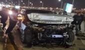 شاهد.. بيع سيارة عمرو أديب في المزاد بعد تحطمها في حادث مروع