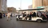 """""""شؤون الحرمين"""" تفعل خدمة نقل كبار السن والأشخاص ذوي الإعاقة بالساحات"""