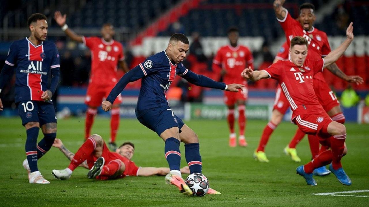 باريس سان جيرمان يتأهل إلى نصف نهائي دوري الأبطال رغم خسارته أمام بايرن ميونيخ