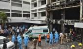 الهند: مصرع 13 مريض بكورونا في حريق هائل بمستشفى