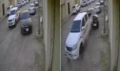 بالفيديو.. مركبة تتعمد الاصطدام بأخرى متوقفة في أحد الشوارع بالمملكة