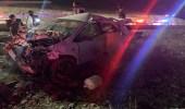 وفاة شخص وإصابة 4 آخرين في حادث تصادم بالباحة