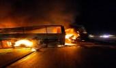 صور.. مصرع وإصابة 21 شخصًا في حادث مروع بمصر
