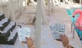 محمد رمضان يستمر في استفزاز جمهوره ويلقي الدولارات إلى نمور