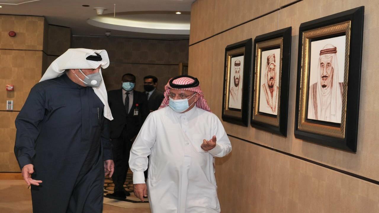 """شاهد.. السفير أسامة نقلي يعلق على زيارة مندوب قطر بالجامعة العربية له:""""أسعدني"""""""