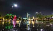 أمطار رعدية وأتربة مثارة على المدينة المنورة