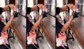 بالفيديو.. شباب يتناولون القهوة بالمغذي الطبي