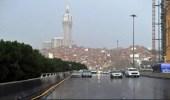 """""""العمليات الأمنية"""" تحذر من أمطار غزيرة على مكة المكرمة"""