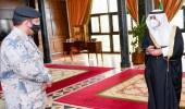 امير تبوك يستقبل قائد حرس الحدود بالمنطقة