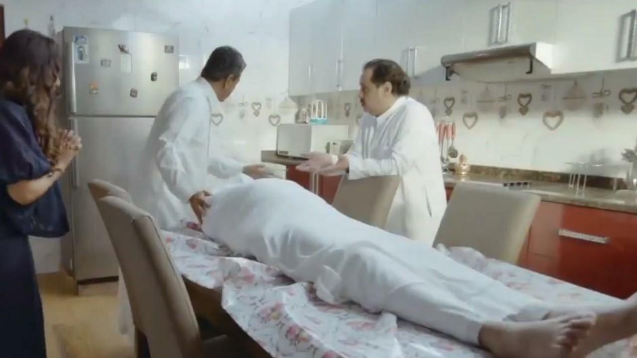 """مشهد للفنان ناصر القصبي في """"ممنوع التجول"""" يثير الجدل.. """"فيديو"""""""