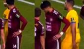 حركة غير أخلاقية لحمدالله مع لاعب الفيصلي تضع النصر في مأزق