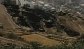 """بالصور.. اندلاع حريق في """"عثوان الداير """" بجازان"""