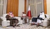 الملك سلمان يدعو أمير قطر لزيارة المملكة