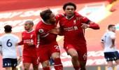ليفربول يفوز على أستون فيلا بالدورى الإنجليزى