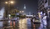 أمطار رعدية وأتربة مثارة على مكة المكرمة