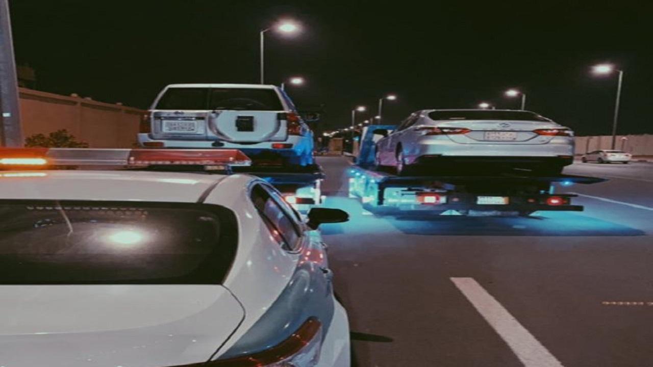 مصير 3 أشخاص تسابقوا بسياراتهم في شوارع الأحساء
